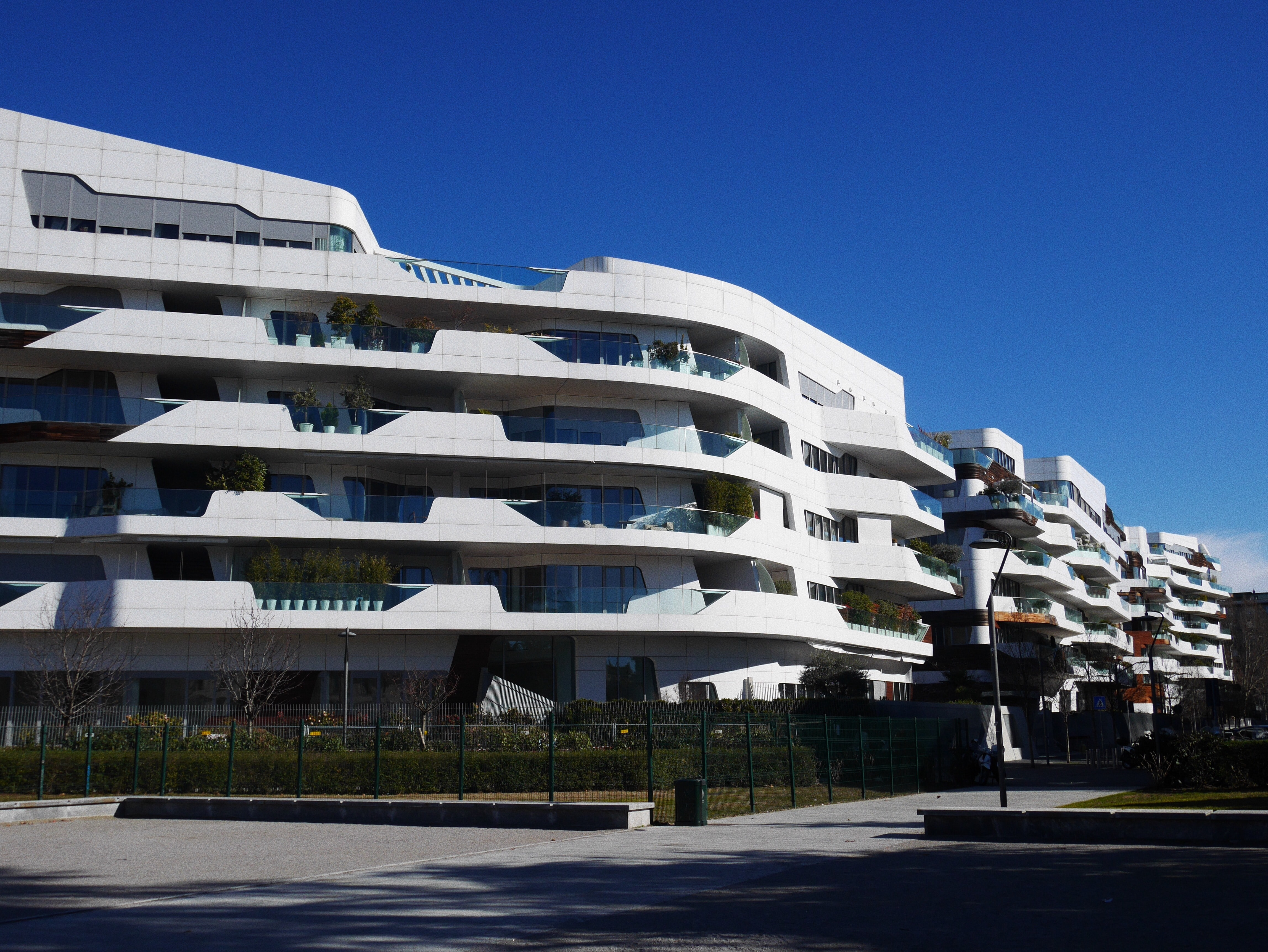 white architectural building view during daytime