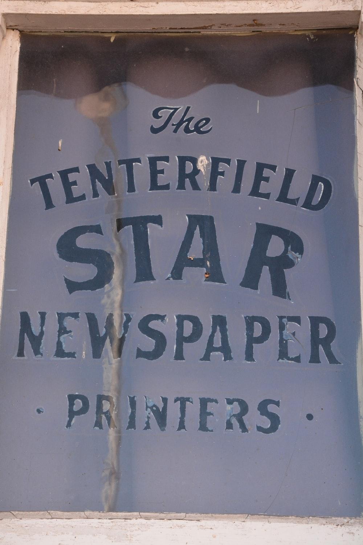 The Tenterfield Star wall decor