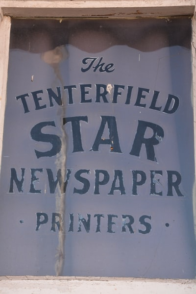 The Tenterfield Star wall decor