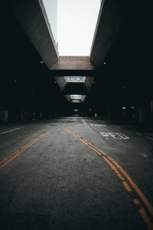 underground road urban photography