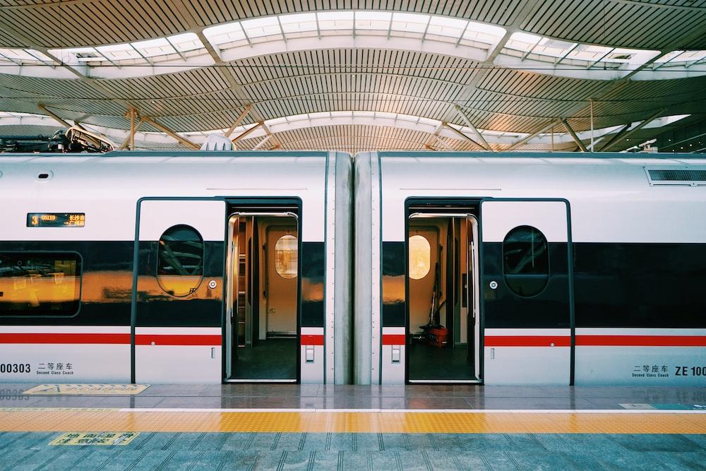 opened-door train