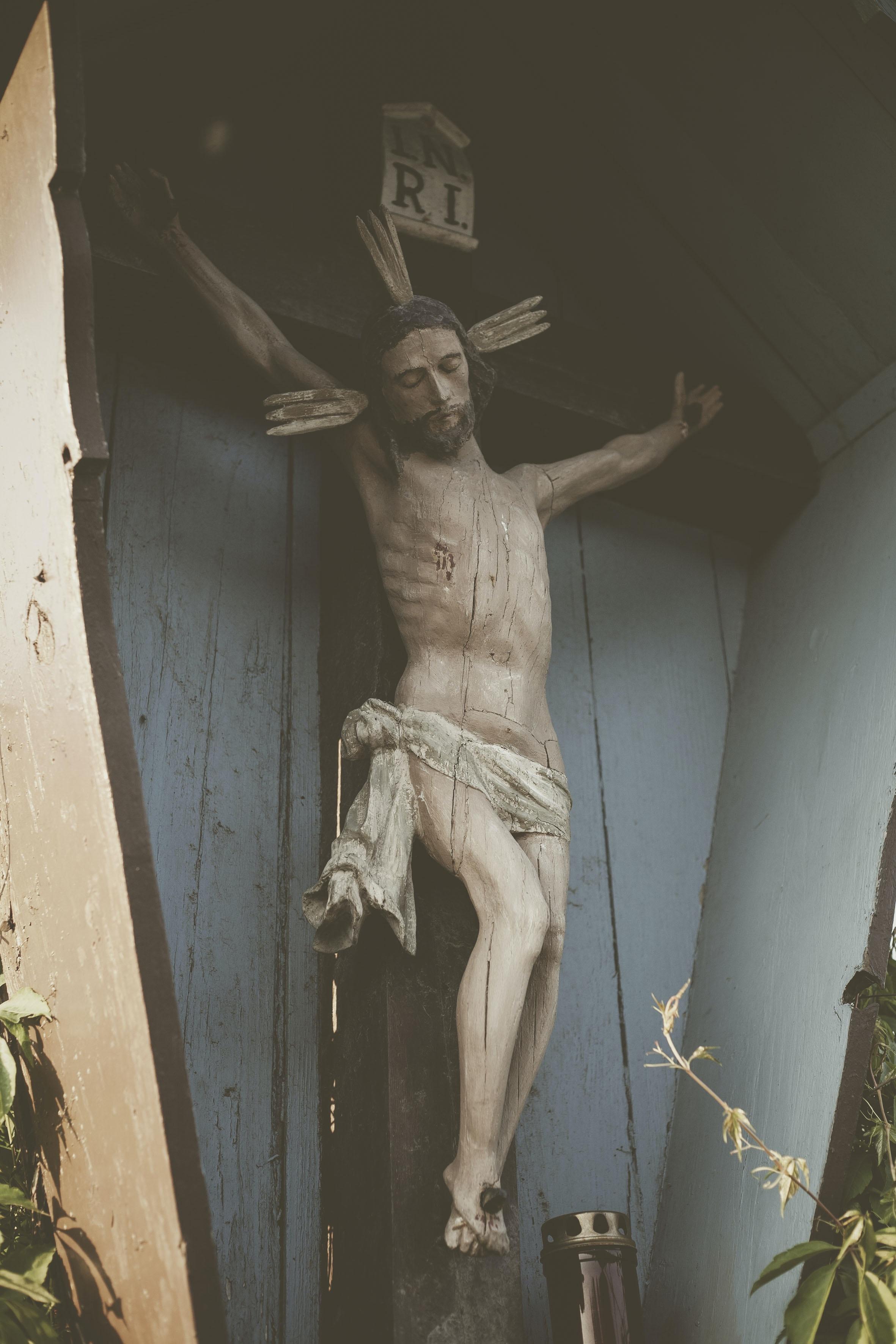 man on cross