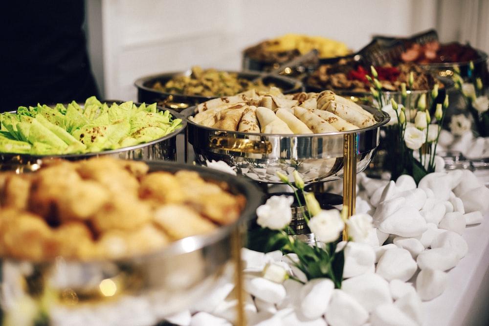 dumplings platter