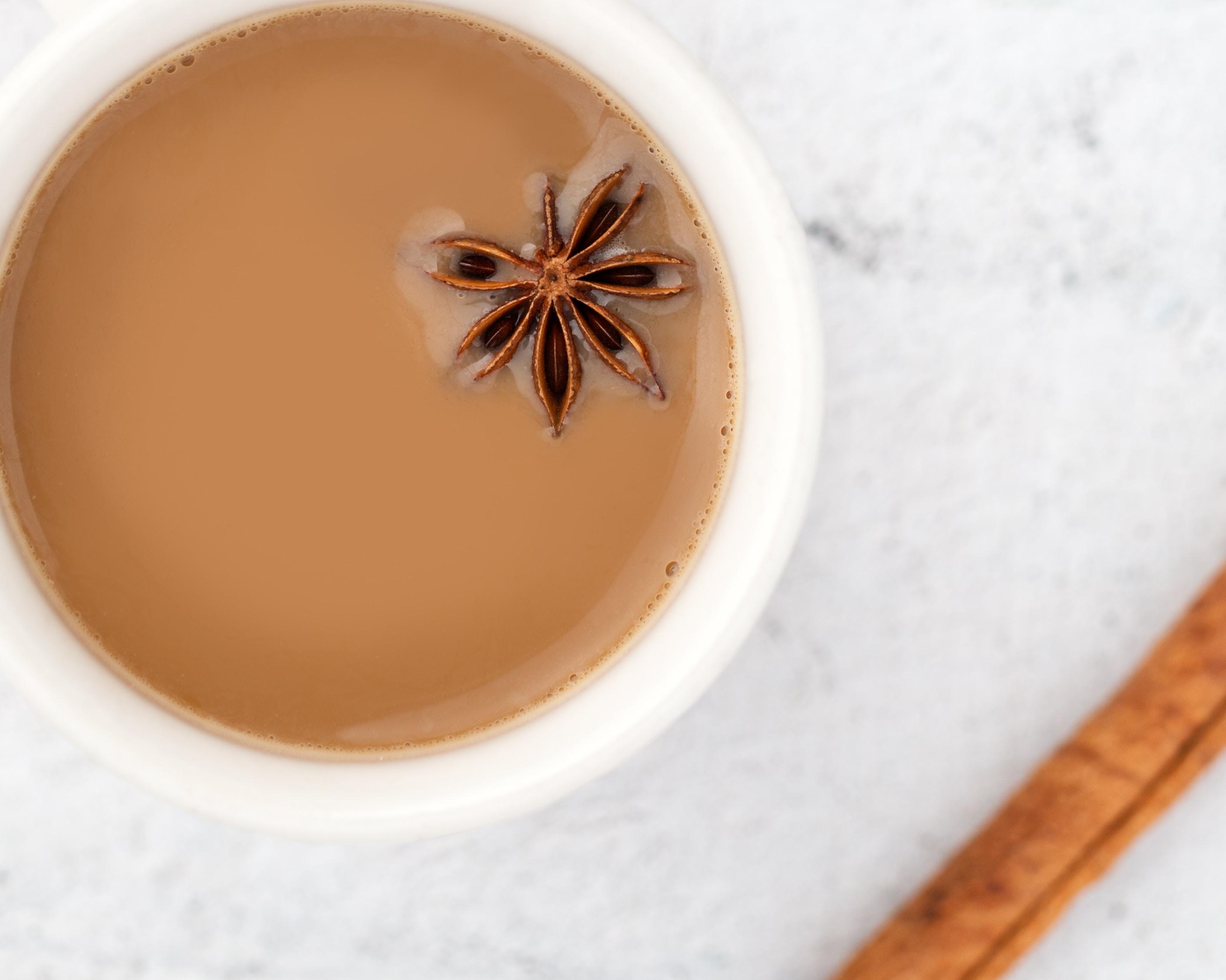 creamy spiced chai