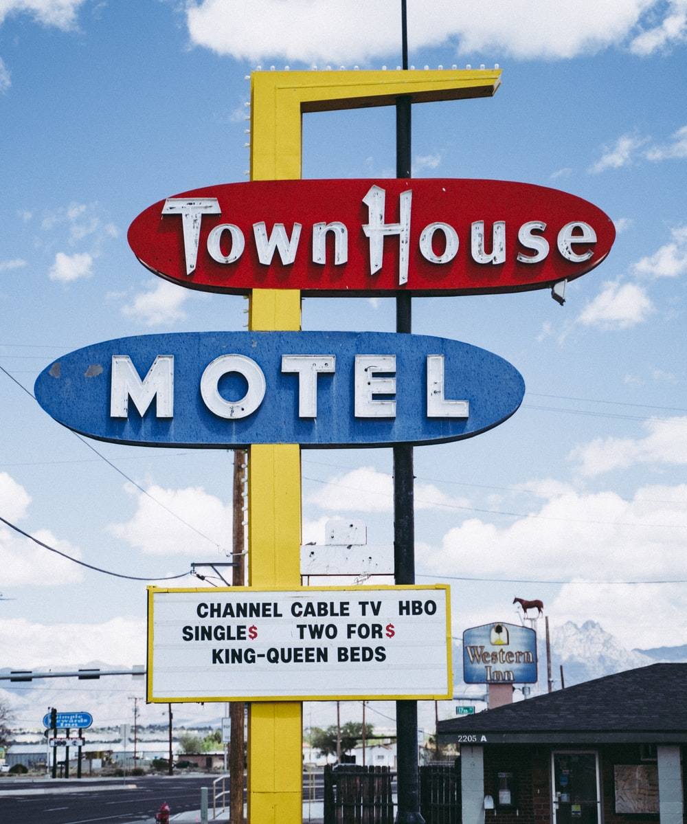 Town House Motel signage