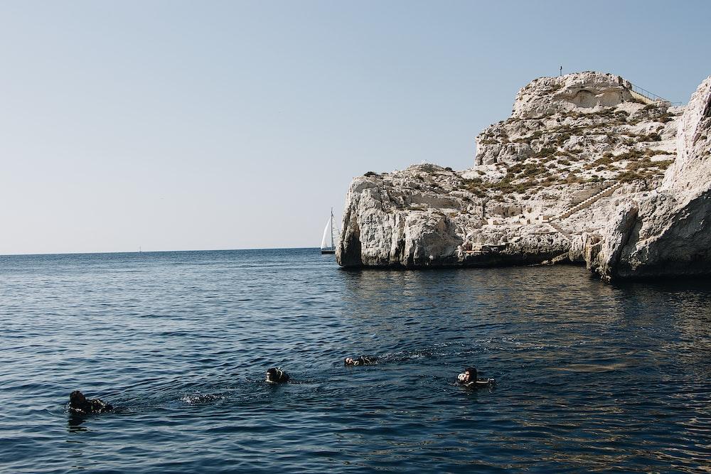 white rock island