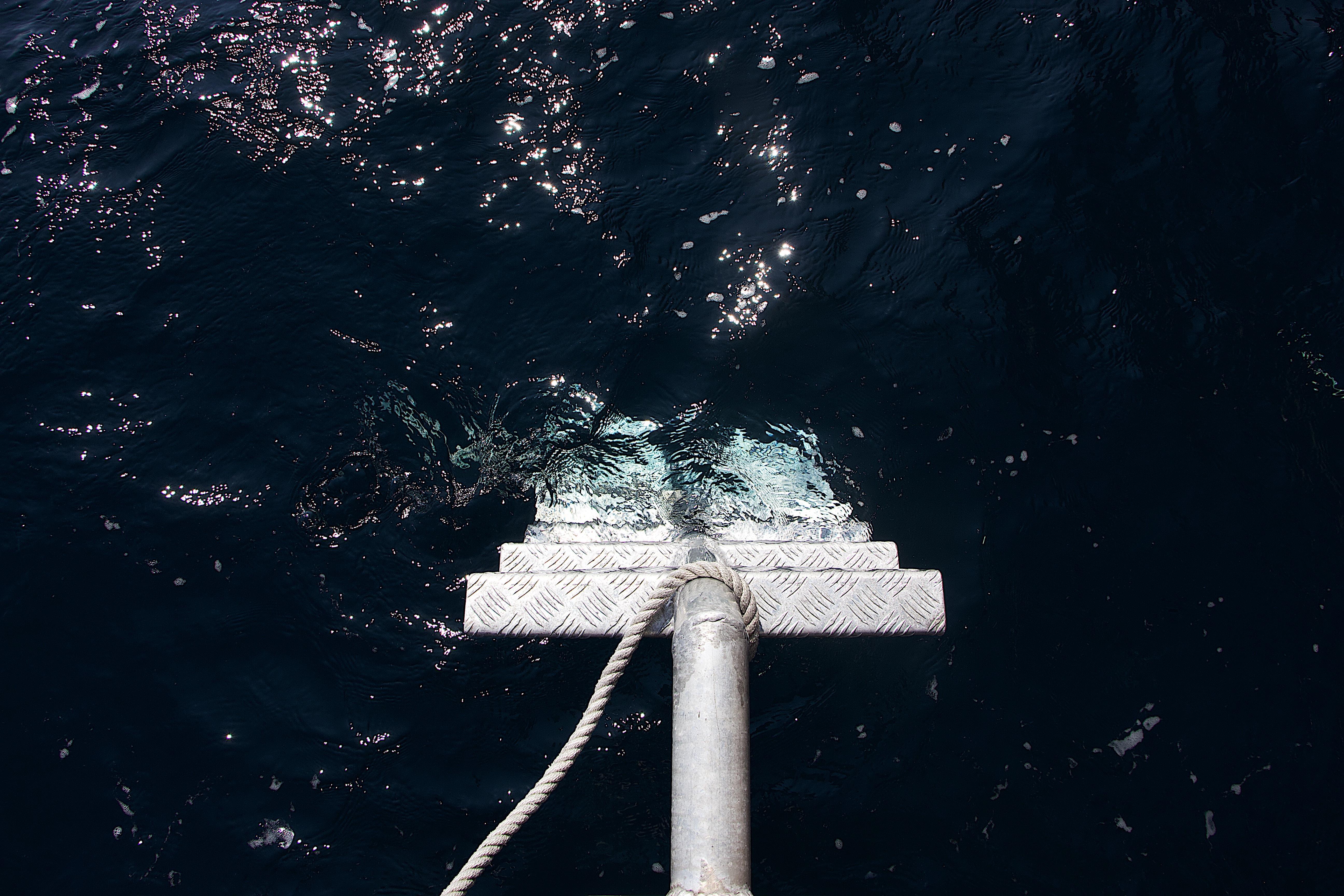 gray buoy