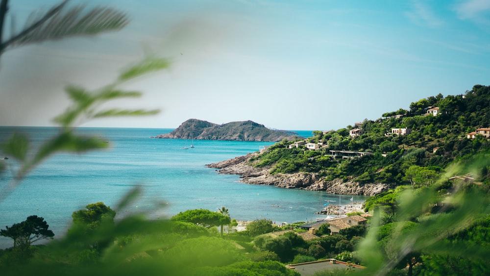 green island scenery