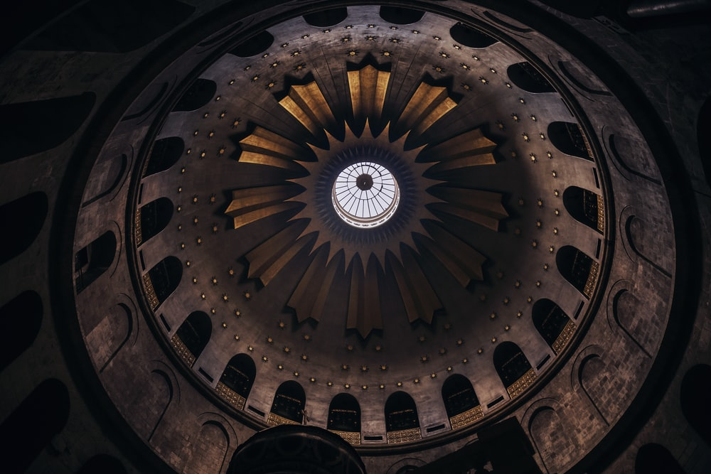 dome building inside view