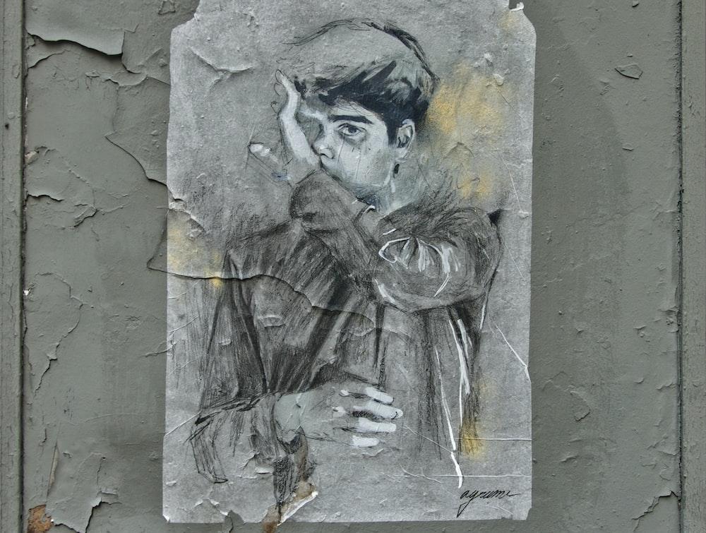 portrait of man close-up photography