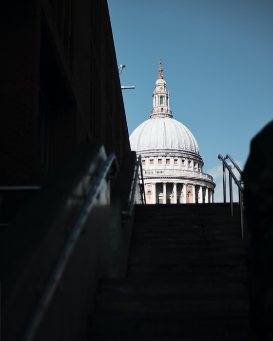 St Paul's Cathedral in London, UK