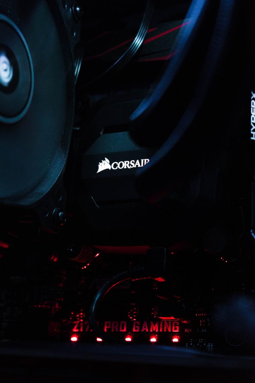 black Corsair electronic device