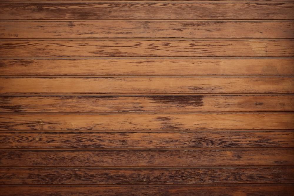 brown parquet board