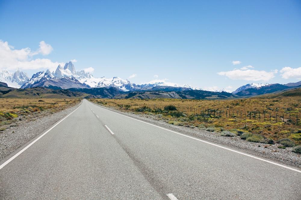 gray road pavement