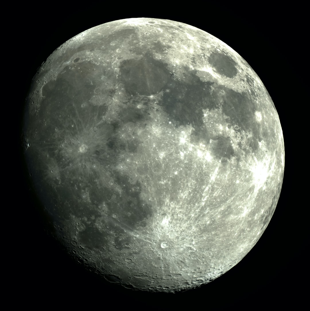 90.3% full moon  60 stacked shots from video  Worth downloading for max rez!