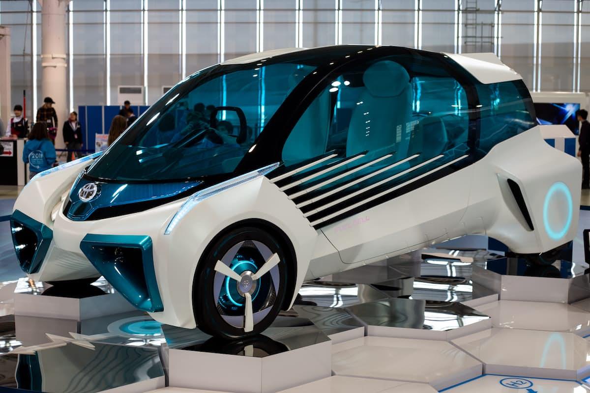 coche de pila de hidrogeno