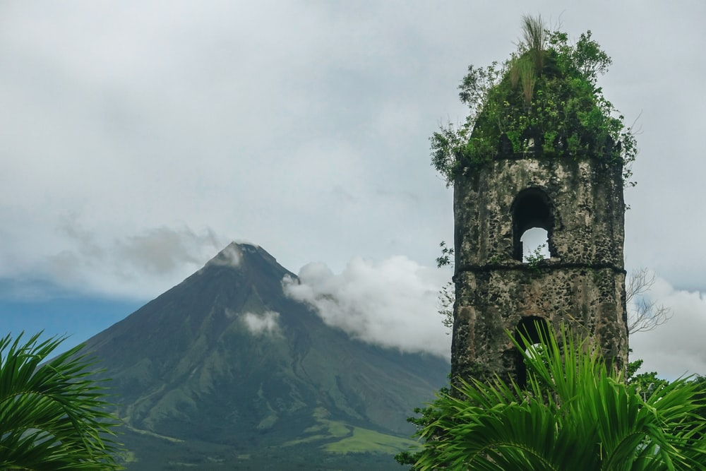 Mayon Volcano, Albay Philippines during daytime