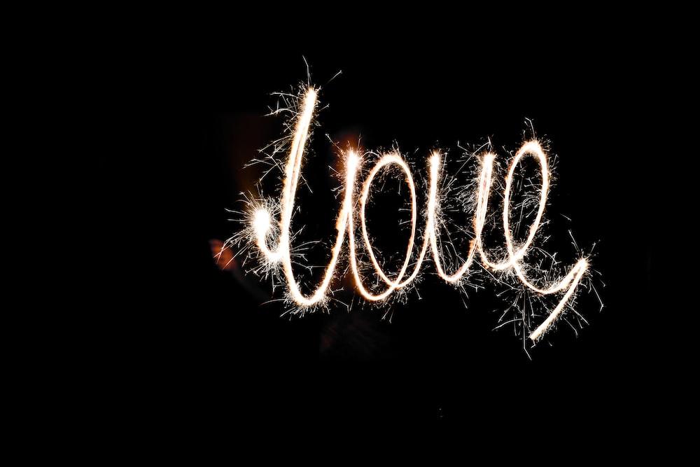 love spark text