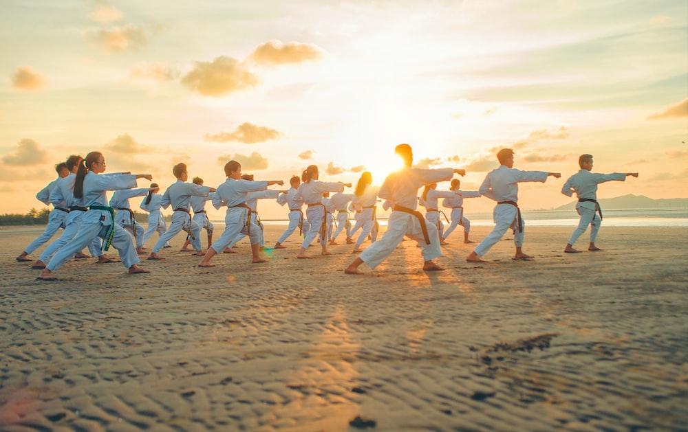people wearing karate ji