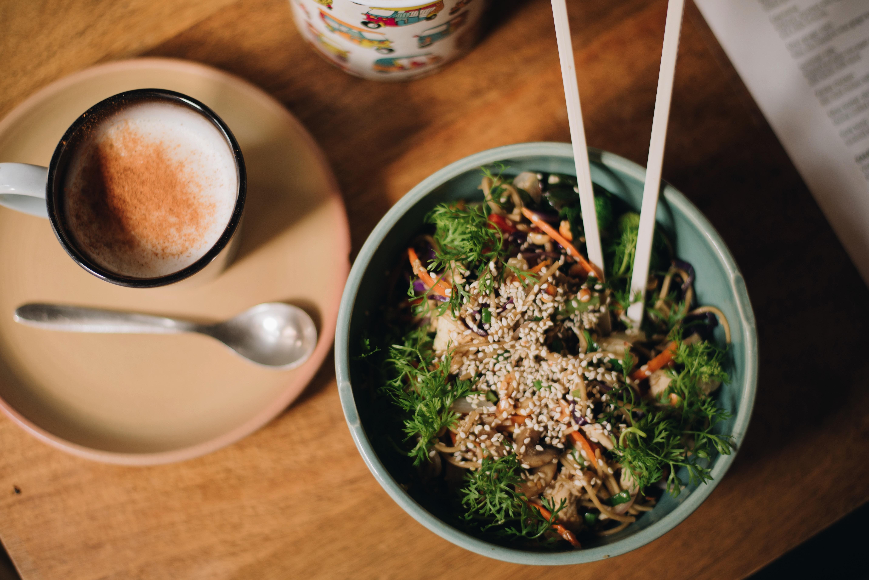 dish in bowl