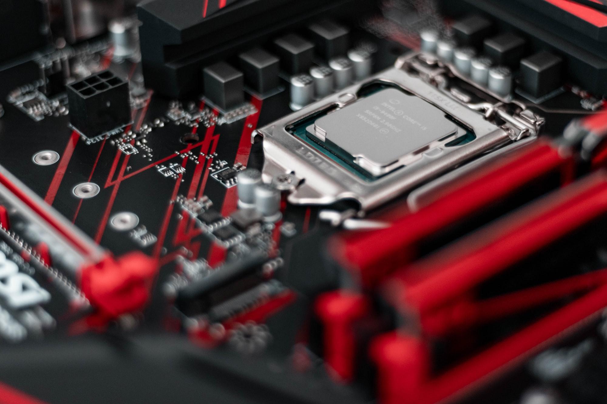 PC custom build components