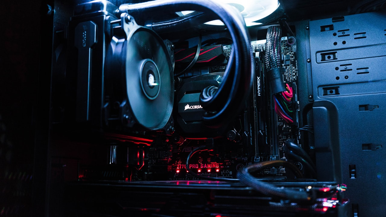 Image of custom PC