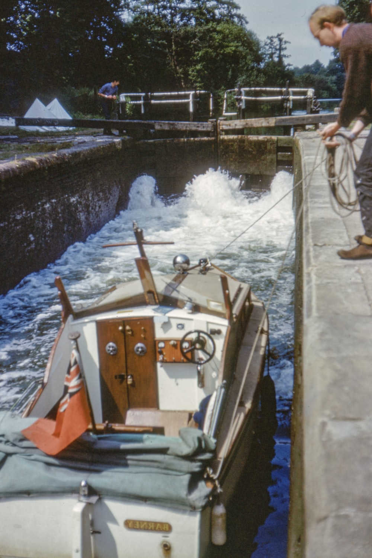 man holding rope near boat