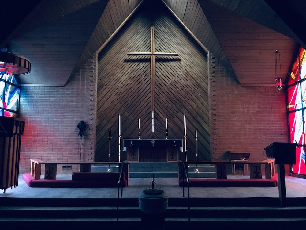 brown concrete church