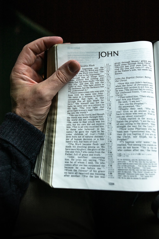 John book page