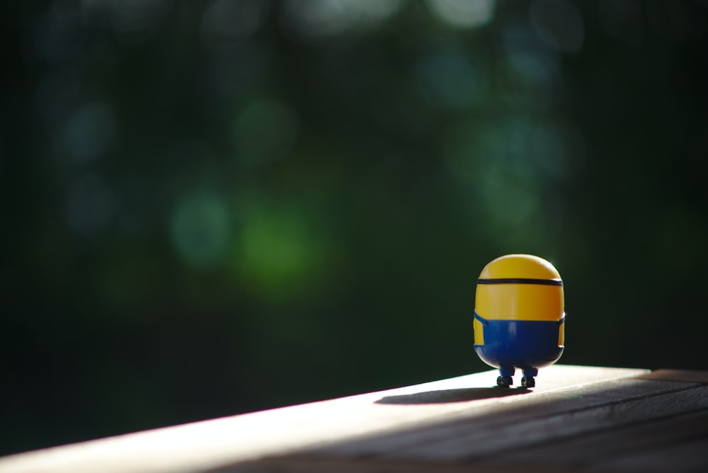 Minion plastic toy