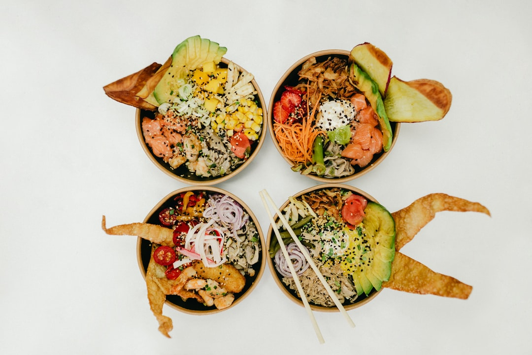 You can put any ingedient you want in a quinoa poke bowl by Jonathan Borba Unsplash