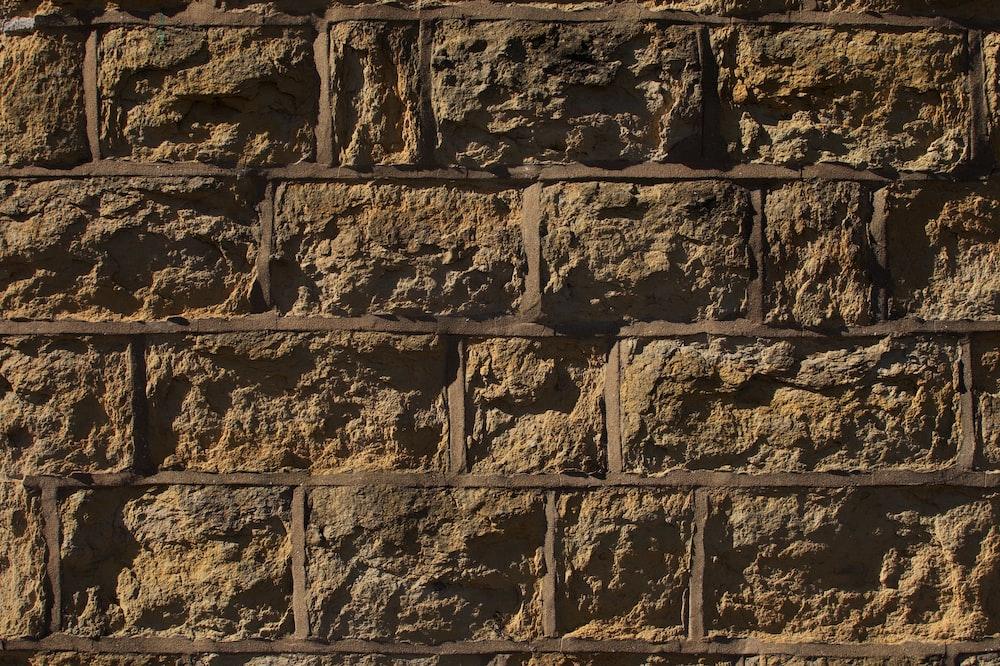 close photo of brown wall