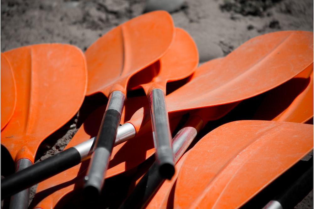 orange oak paddles