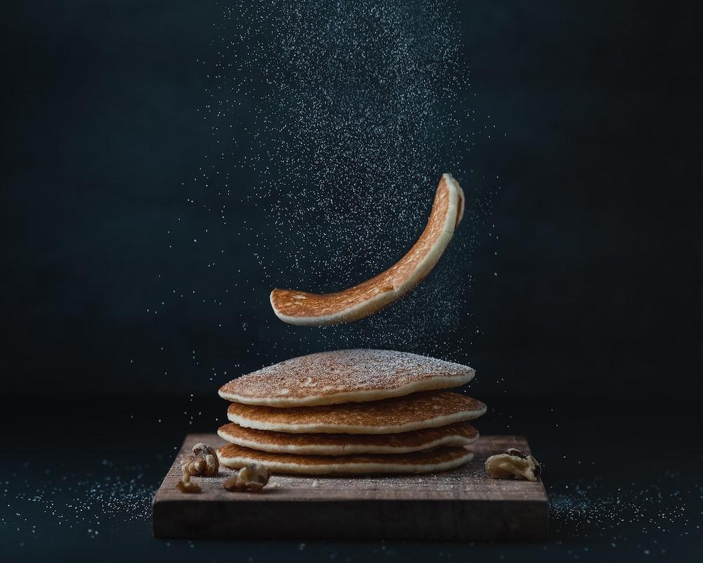 tray of hotcakes
