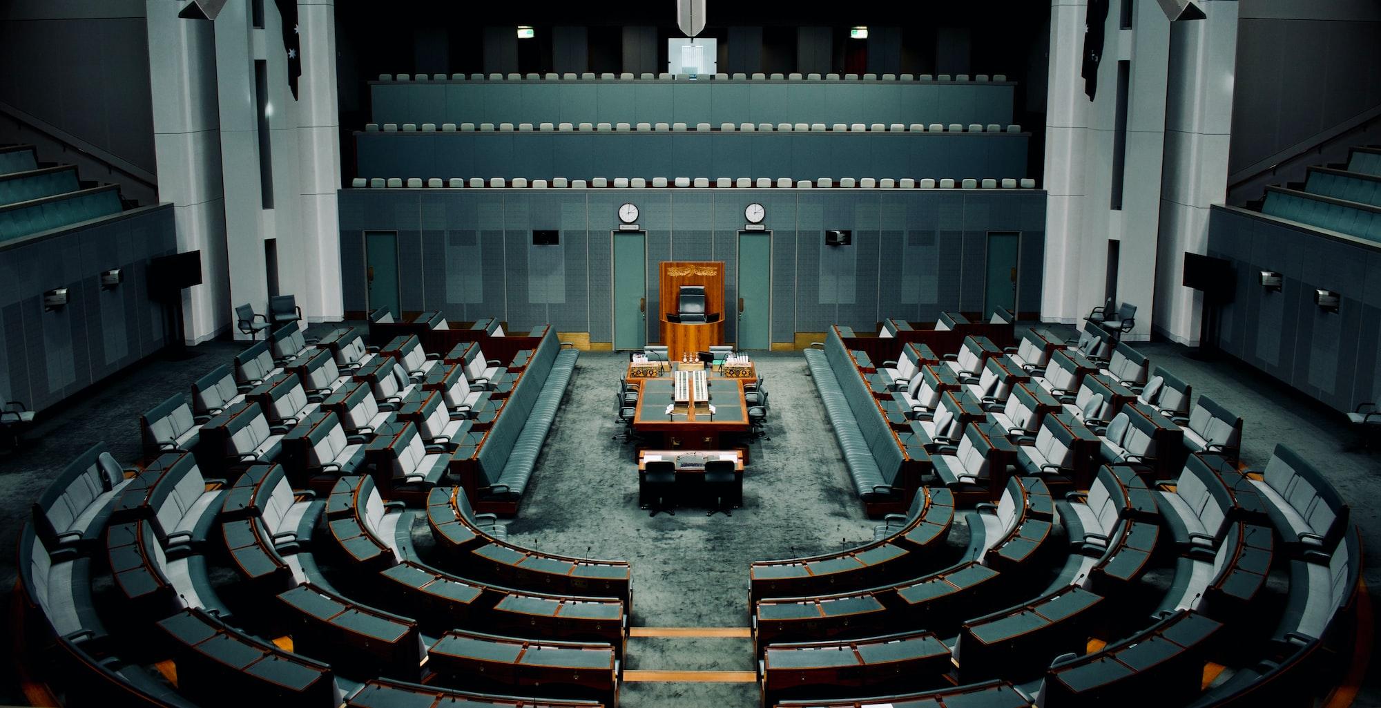 The Australian House of Representatives at the Australian Parliament