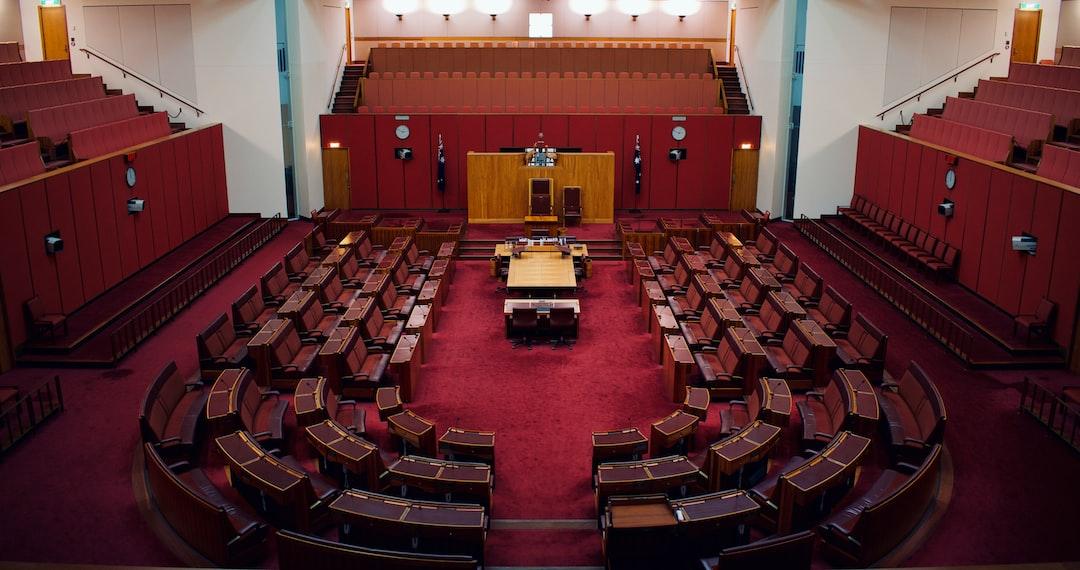 The Australian Senate at the Australian Parliament