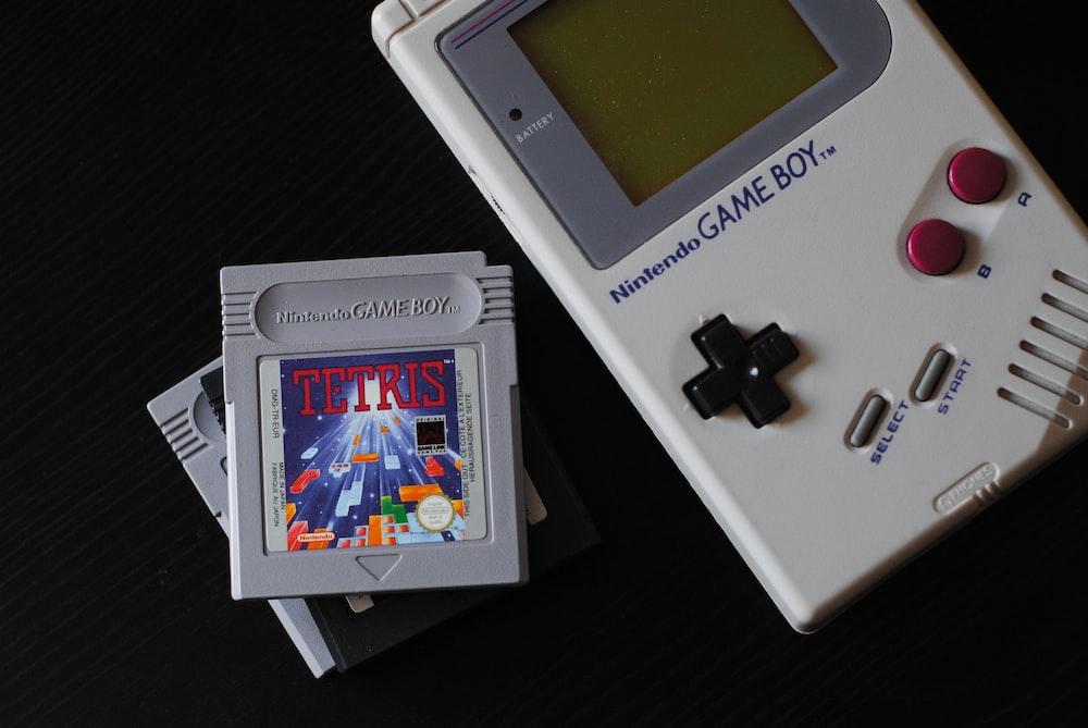 white Nintendo Game Boy