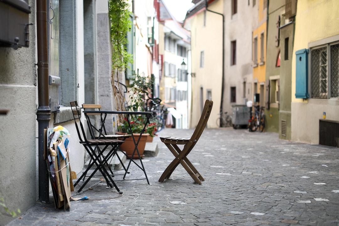 old quarter in Baden