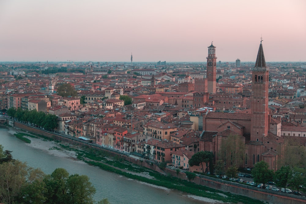 Verona, along the bike path to Vicenza