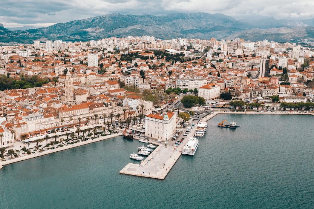 Split, Croatia in March