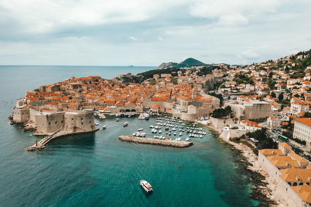 Dubrovnik, Croatia in March