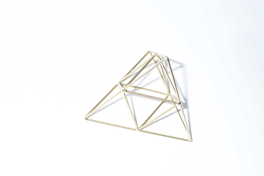 gray triangle frame