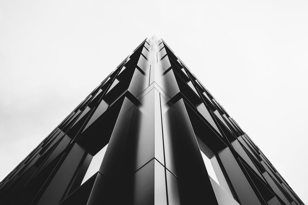 low angle photo of high-rise tower