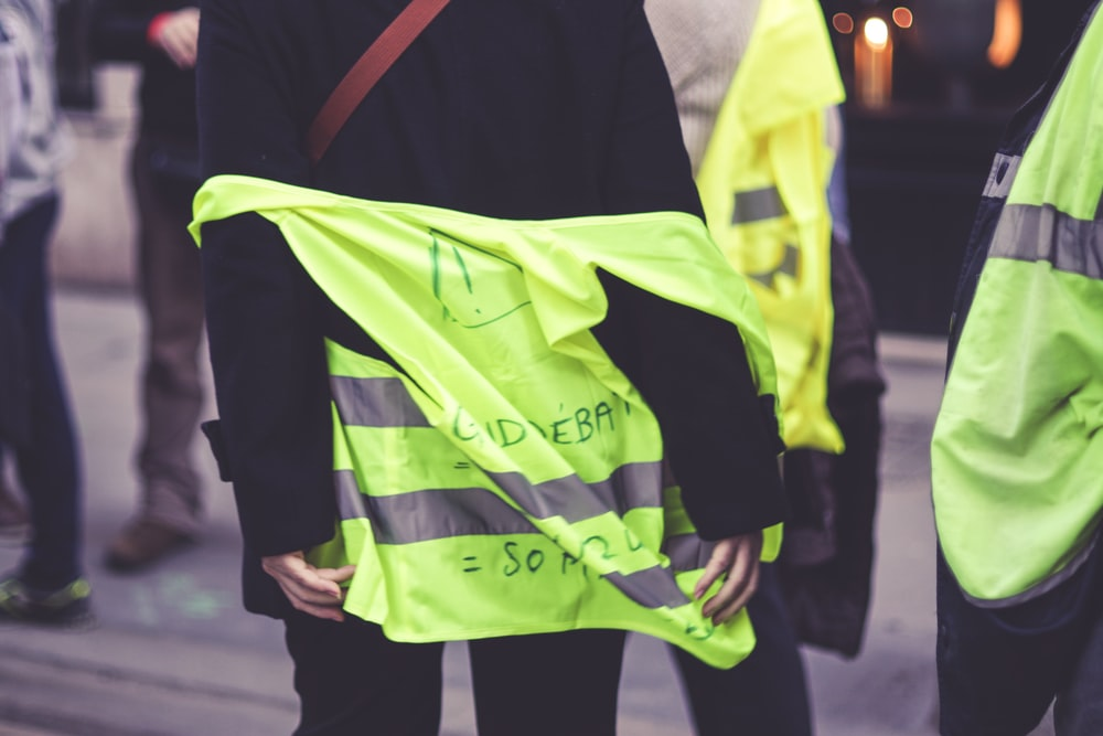 people wearing safety vests