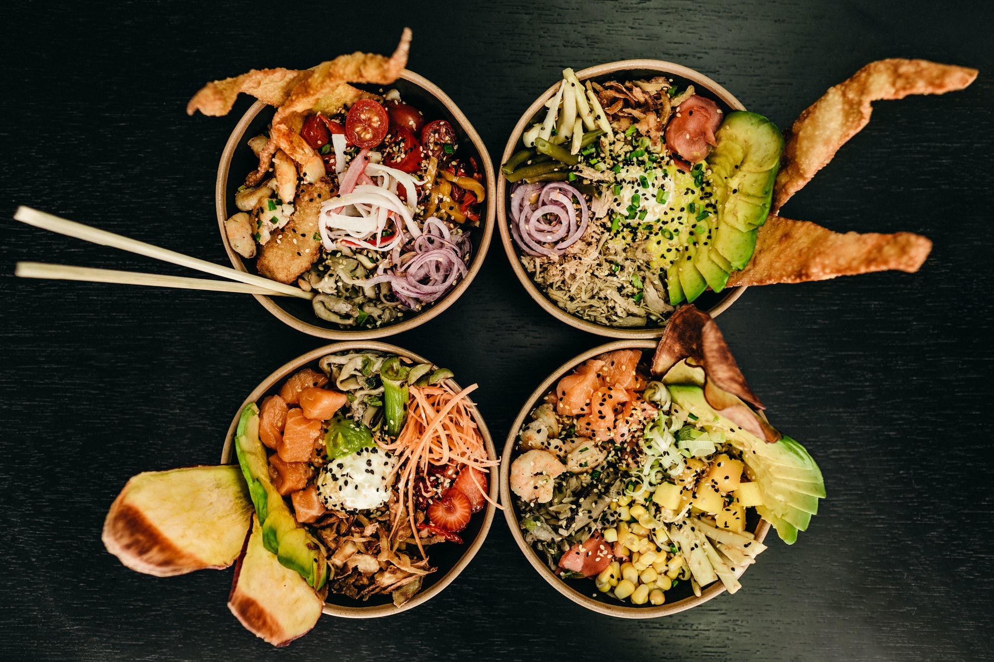 The Top 5 Poke Bowls Around Silicon Valley
