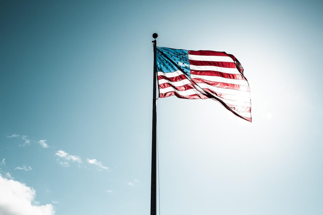 flag pole zoom background
