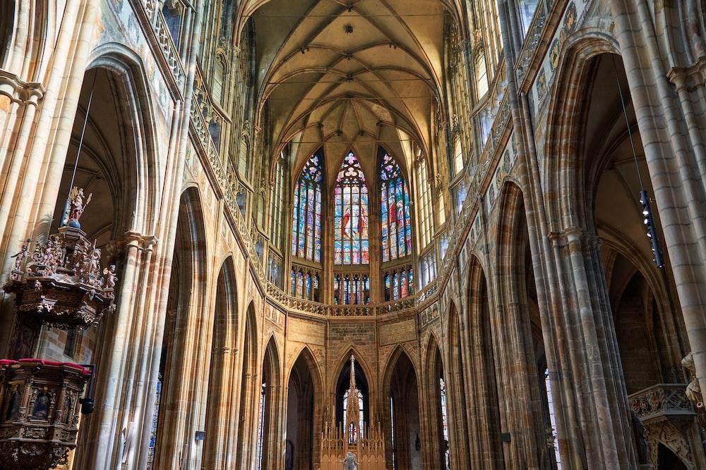 church interior at daytme