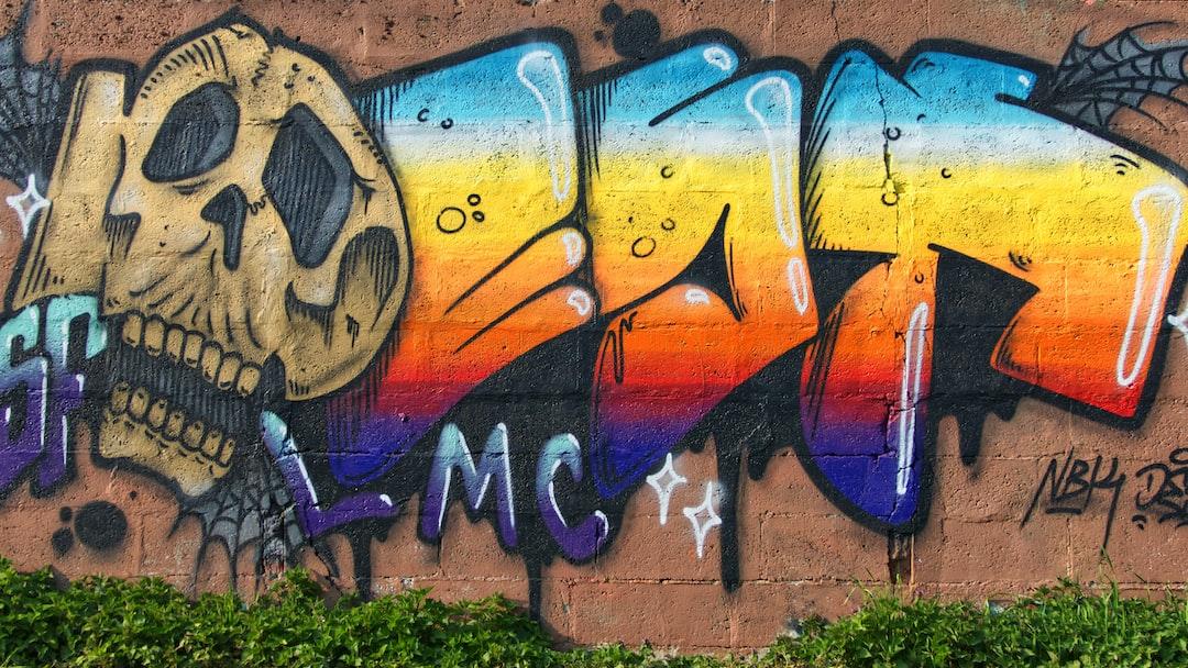 Peinture murale à Pomponne