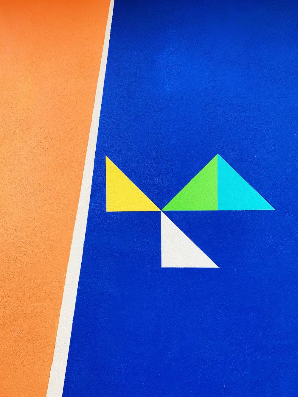 multicolored graphic art