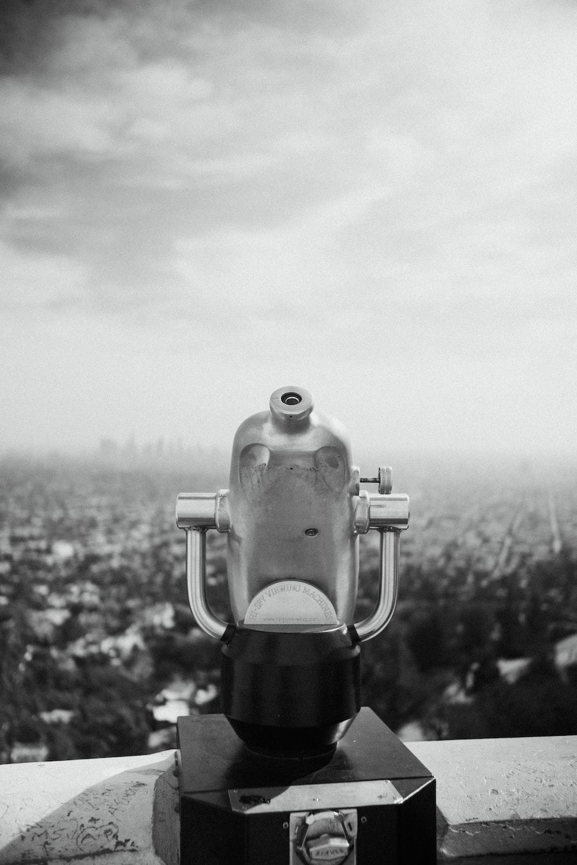 grey telescope photography